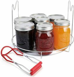 Canning Rack Canning Jar Tongs for Regular Mouth and Wide Mo