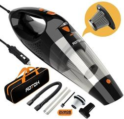 HOTOR Corded Car Vacuum Cleaner High Power for Quick Car Cle