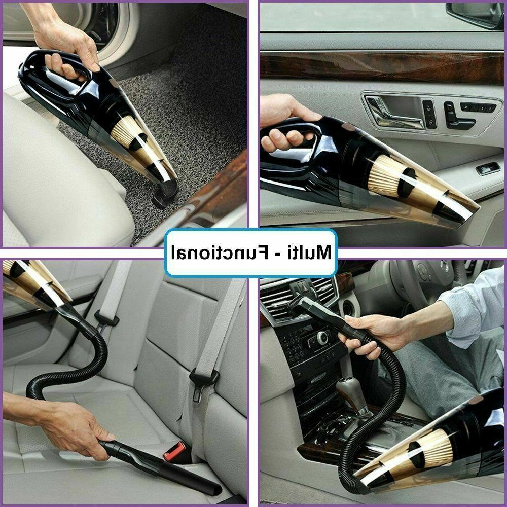 Powerful Vacuum Cleaner, Portable Wet&Dry Suction